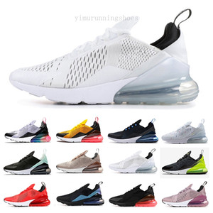 2019 Parra Hot Punch Photo Blue Mens Women Running Shoes Triple White University Red Olive Volt 270s 27C Flair Air Sneakers 36-45 KGF96