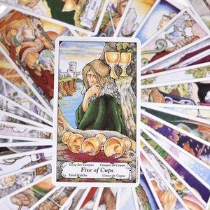 Pz Consiglio Guidance Kit Famiglia destino Divinazione Forniture 78 Tarocchi Il Partito Tarocchi Essential Deck Card Games For bbyCOf bdehome