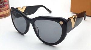 Yeni moda tasarım 0902 kedi çerçeve basit popüler tarzı UV400 koruması toptan gözlük en kaliteli güneş gözlüğü
