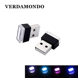 Mini USB Light LED Night Car Interior Atmosphere Lamp Desk Book Reading Camping Bulb Universal For Emergency