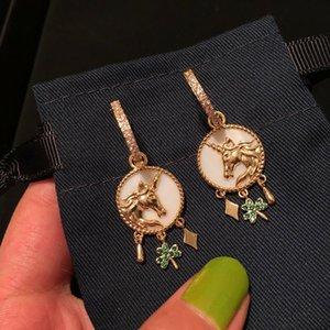 2020 new style women's Earring hot sale high sense Fashion Earrings simple and generous Earrings personality insversatile women's Earrings