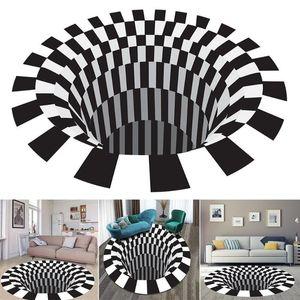 Stampa 3D Carpet Casa esterna Alfombra Picnic Mat stampato Soggiorno Superficie Tappeto Bagno decorativo Pad Mandala Alfombr