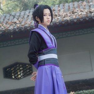 Zrref estrada cosplay antigo costume ancestral Cheng Jiang Wei Wuxian traje estilo cartoon juventude