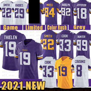 19 Adam Thielen Dalvin Cook Minnesota