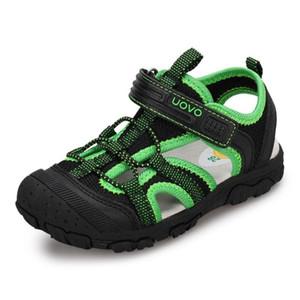 2020 Uovo New Boy Sandals Baby Little Boy Beach Sandals For Children Big Kid Summer Shoes Size 2 3 4 5 6 7 8 9 10 11 12 Years