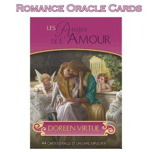 Consiglio Romance Dropshipper Stampa gioco Tarocchi Of Angels Oracled Deck Virtù carte misteriose Doreen Out Rare 44 Scheda Di Benvenuto unXFH
