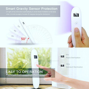 Top Sale 2.5w 500mAh Handheld Cordless LED UV Sterilizer Wand, Portable UVC Light Cleaner Stick