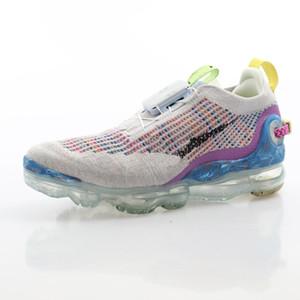 """Caliente estrenar Maxes 2020 FK """"Multicolor / Pure Platinum"""" VM2020 volando tejidos de encaje rápido todo-fósforo deportes ocasionales de los zapatos para correr CJ6740-001"""