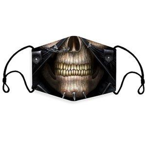 Masques à vélo Filtre Filtration 5 couche activée Protection contre le vent carbone antipoussière Proof Splash Livraison gratuite par # 108