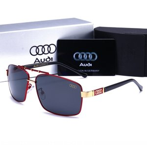 TnDUC Car O '/ Di 4s-Shop Geschenk Audi Sonne Männer polarisierte Gläser Mode treibende Brille Kröte Aud
