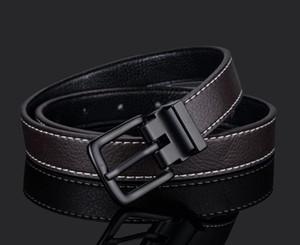 La nouvelle conception de ceinture hommes et les femmes de la mode ceinture femmes en cuir véritable ceinture couleur Plus Buckle lien client Old Leather