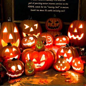 Falar Pumpkin Decor Halloween Toy LED criativa do presente da lanterna A cena layout partido Home Decoração Night Light Brinquedos