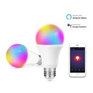 Fashion Home Smart Wifi Bulb Sound and Light Control Color Bulb European and American Universal WiFi Smart Color Bulb