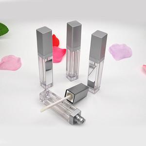 7ML LED Пустой Lip Gloss Tubes площади Очистить Lipgloss возвратных бутылок Контейнер пластиковый LipGloss макияж Упаковка Светом