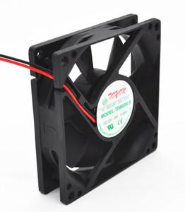 Nuevo 12V 0.08A 8cm TD8020LS ventilador original dispensador de agua 80 * 80 * 20MM ventilador silencioso