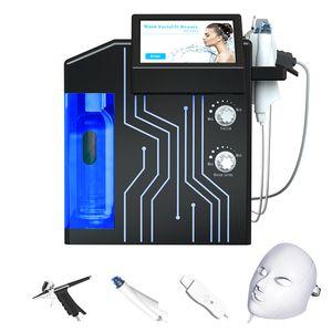 HydraFacial Md Máquina Hydro dermoabrasión Limpieza de la piel facial Rejuvenecimiento Equipo microdermabrasión HydraFacial espinillas Spa uso en el hogar