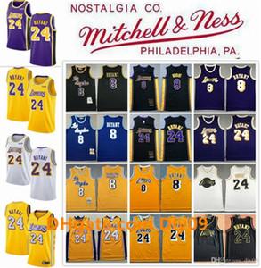 Vintage 8 24BryantJerseyLos AngelesLakersKobeBryantMitchell & Ness Hardwoods City Basketball Jerseys