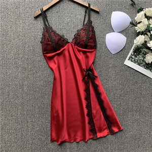 woman lingeries luxury Sexy Lingerie sexe underwear women designer underwears Lace Femme sleepwear pajamas sets Nightdress Ice silk