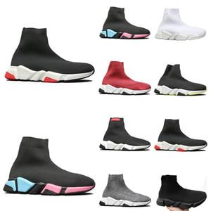 2020T Novas Meias Sapatos estiramento Botas Homens e mulheres com o mesmo Sneakers, a caixa original, homens e mulheres de código sapatos balenciaga balenciaca balanciaga