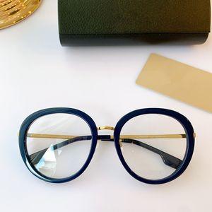 Newest Designed BE4283 Women Round Fullrim Glasses Frame 57-22-145 fashion Plank+Metal for Prescription fullset Box