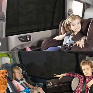 General Summer Sunshade For Car Curtain Side Window Sunscreen Heat Insulation Curtain Mosquito Proof Window Cover