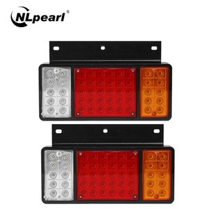 Cauda Nlpearl Car Light Assembly 50 LED traseira Luz Traseira de alta qualidade Super Bright LED Lâmpadas Para Truck Off-Road ATV Car12V 24V