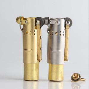 Youfeel Collectable Vintage Trench Lighter Stainless Steel Kerosene Oil Lighter Retro