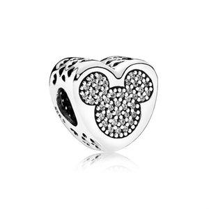 NUOVO 100% 925 Silver 1: 1 autentici gioielli 792050CZ donne del braccialetto originale