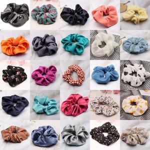 2020 Веревка New Sweet Girl Красивая вышивка цветок Пряжа Резинка для волос Корейский Мода Дети Аксессуары Лук Шпильки для волос # 499