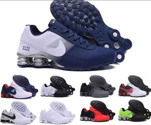 Alta Qualidade Shox avenida Air Entregar 809 Mens Running Shoes Atacado Famoso ENTREGAR 808 809s Mens Athletic OZ NZ Muticolor Sports Sneakers