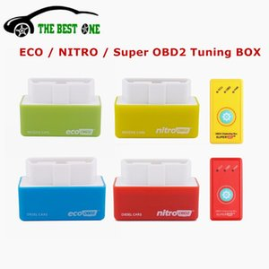 Save Fuel EcoOBD2 For Benzine Petrol Gasoline Cars Eco OBD2 Diesel Nitro OBD2 Chip Tuning Box Plug&Driver SuperOBD2 Reset Button