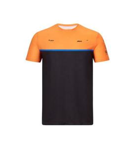 F1 Formula One racing suit montanha motocicleta ciclismo terno de manga curta de poliéster de secagem rápida T-shirt em torno do pescoço ocasional pode ser personalizado
