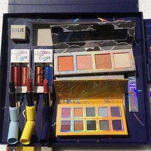 Hot venda Makeup Set Eu quero tudo O Tempo Colecção Bundle flash Glitter Gloss Sombra Highlighter Batom tempestade Conjunto completo