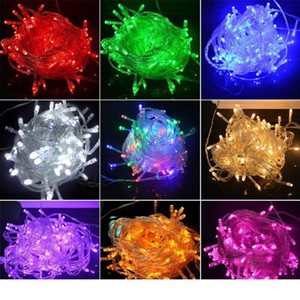 Led Strips String Decoration Light 220V For Party Wedding Halloween Christmas Flash Light 10M