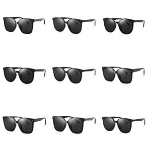 2020 New Snap Glasses Metal Gold Silver Sunglasses Women Retro Snap Button Sunglasses Goggles Sun Glasses#639