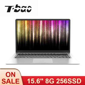 t-bao x8s 15.6inch 울트라 얇은 노트북 1080P IPS 셀러론 J3455 8G 메모리 256G SSD Portable 컴퓨터 사무실 및 게임