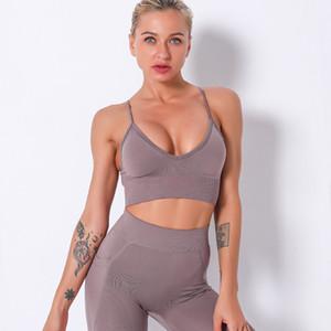 Sport Gathering modella biancheria intima confortevole Yoga Vest antiurto Body-Building traspirante reggiseno di yoga