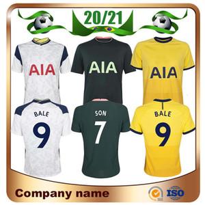 20/21 Spurs Accueil # 9 BALE # 7 SON Soccer Jerseys 2020 loin KANE LLORENTE DELE football chemise LUCAS quatrième loin uniforme de football