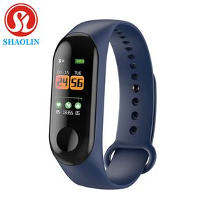 SHAOLIN Pedometer Blood Pressure Monitor Heart Rate Fitness Tracker Smart Bracelet Counter Pedometers Smart Watch Smart Band