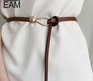 WKOUD 2020 Nouveau cuir EAM véritable Ceinture Femmes Mode Tout match Casual Corset Ceinture Femme Trendy taille Lady Baudrier PF624