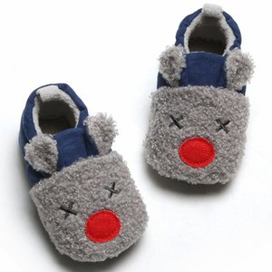 Warm Newborn Toddler Boots Winter First Walkers baby Girls Boys Shoes Soft Sole Fur Snow Booties for 2020