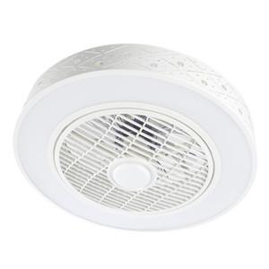 controle Controle de ventilador de teto 50 centímetros com a Luz Inteligente Cell Phone APP Wi-Fi decoração interior rodada circular iluminação moderna