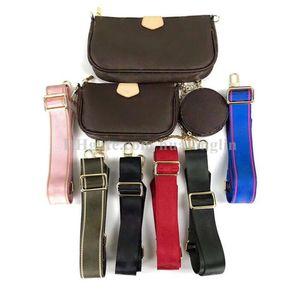 Hohe Qualität Frauen Taschen Handtasche Geldbörse Original Box Datum Code Seriennummer Blume Multi Bags Pochtte