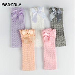 Beauty Bow Girl Lace Socks Cotton Princess Socks for Girls Fashion Newborn Baby Long Autumn Winter Children Girl Clothes