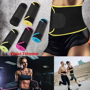 Women Beauty Waist Support Adjustable Waist Trimmer Belt Sweat Wrap Tummy Stomach Fat Slimming Exercise Belly Waist Trimmer