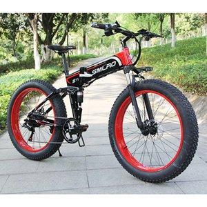 S11f Big Electric Power Bike 1000W Bafang Motor 26x4.0 Zoll Fat Reifen elektrisches faltendes Fahrrad mit 14AH $ amsung Lithium-Batterie