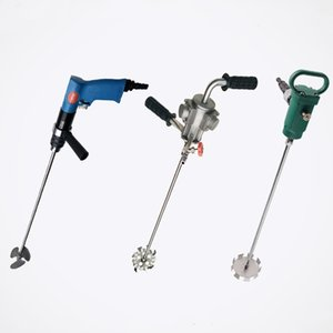 TJ3 portable pneumatic mixer. Paint paint mixer