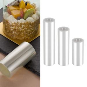 Torta Collari, trasparente Torta Rolls, Cancella strisce, trasparente Mousse al cioccolato collare cottura circostante bordo