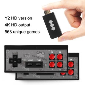 New 4K HD Video Game Player Wireless Handheld Game Joystick HDMI 568 AV 600 Retro Classic Games Wireless Portable Game Consoles In Stock