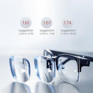 Multifocal progressive lens 1,56 1,61 1,67 prescription glasses CR-39 resin optical lenses myopia hyperopia Presbyopia lensesFactory Outlet